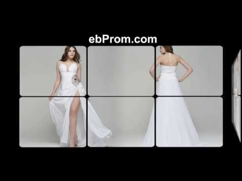 halter-beaded-white-prom-dresses-with-slit