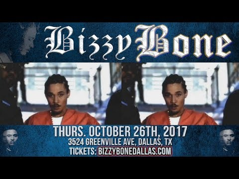 Bizzy Bone Concert in Dallas Tx - Get Your Tickets Now! (The Industry Ent)