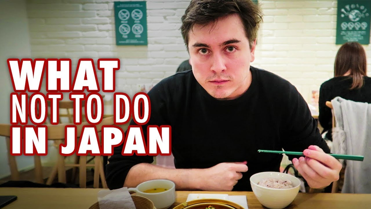 12 Things NOT to do in Japan