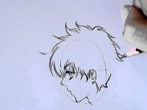 Easy Anime Boy Drawing 2 Youtube