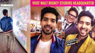 Armaan Malik Visited Walt Disney Studios Headquarter Had an amazing time With Team SLV 2019
