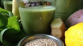 Pineapple Mango Spinach Smoothie ~ Refined Recipe