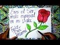 Cómo dibujar un rosa para el día de la Madre