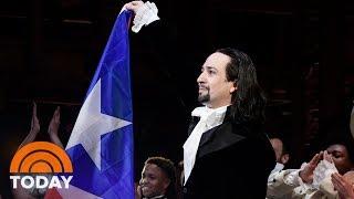 'hamilton' Debuts In Puerto Rico With Lin-manuel Miranda's Return  Today