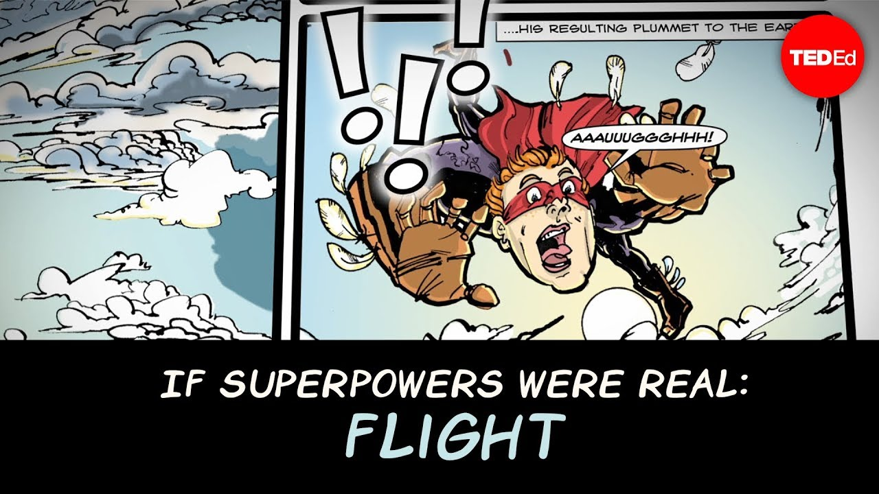 If superpowers were real: Flight - Joy Lin