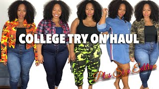 FASHIONNOVACURVE try-on haul/GOING BACK TO SCHOOL AT 30 YEARS OLD!!!