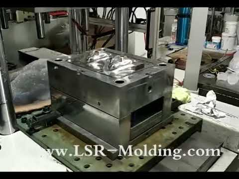 Silicone Face/Breathing Mask Production by LSR Injection Molding