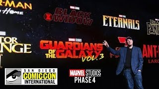 SAN DIEGO COMIC CON 2019 MARVEL PANEL ALL PHASE 4 MCU MOVIES, GAMES & TV SHOWS CONFIRMED AND LEAKED