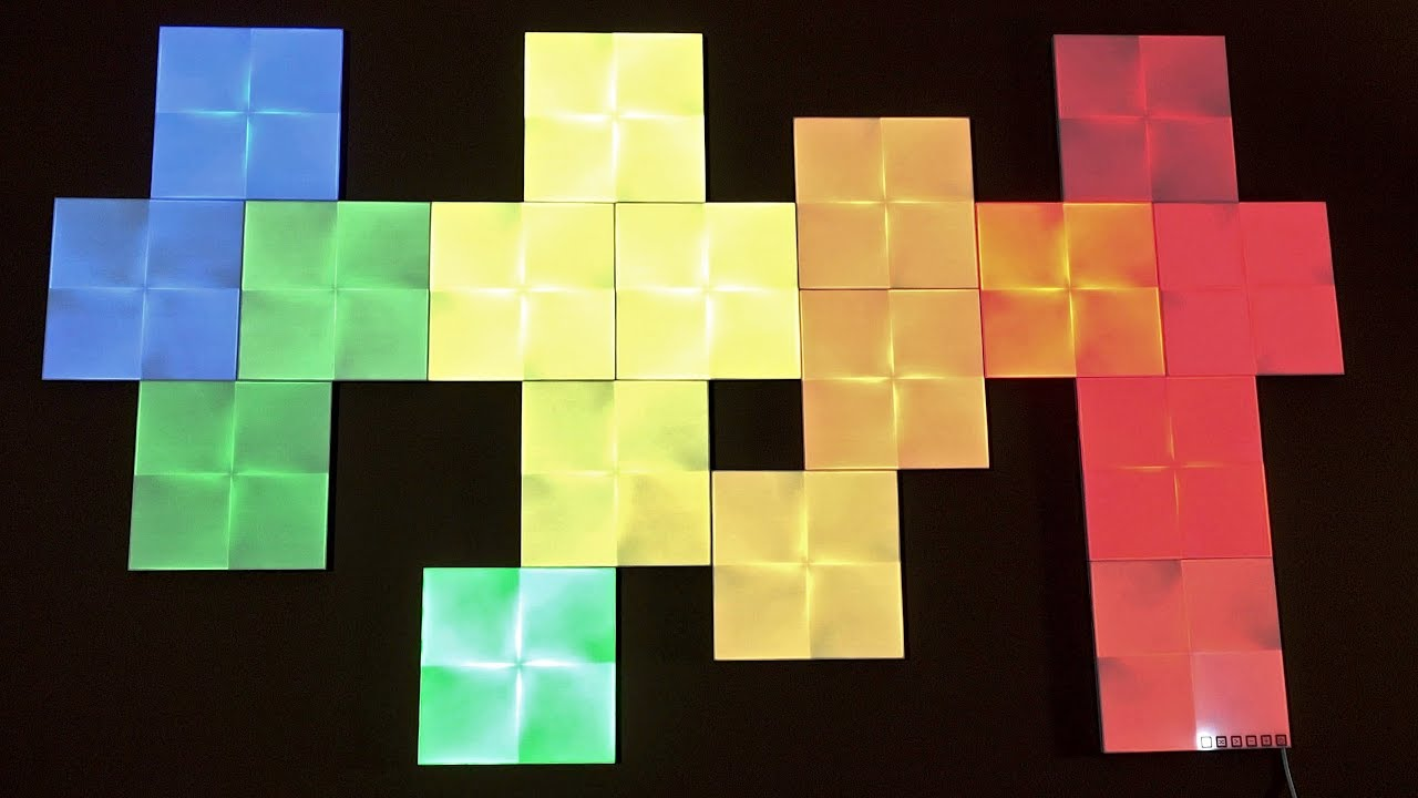 Nanoleaf Canvas Create Your Own Masterpiece Youtube