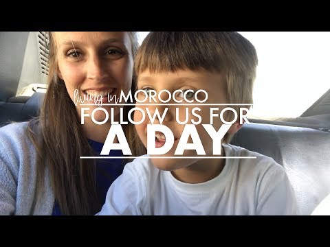 A DAY IN THE LIFE while living in Morocco || Where We Roam