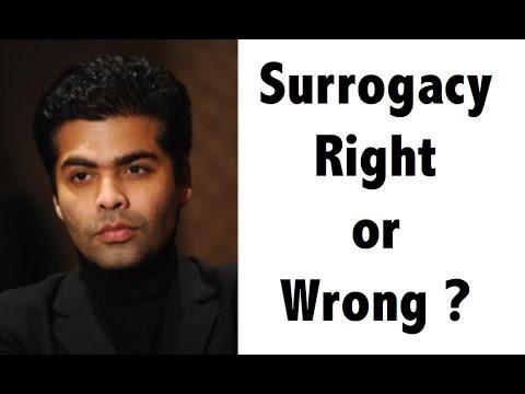 Karan Johar - Surrogacy debate - Right or Wrong ? - Surrogacy bill Analysis - UPSC/IAS/PCS