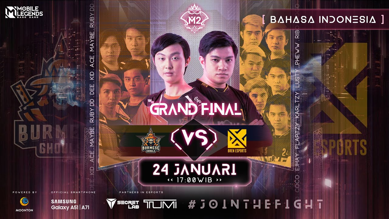 (Bahasa Indonesia) M2 Grand Finals  | MLBB World Championship 2020 | Singapura