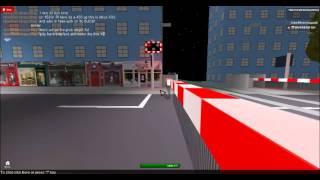 Lincoln Central Level Crossing (Roblox-Stil)