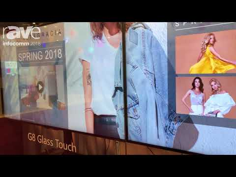 InfoComm 2018: PQ Labs Debuts G8 Any-Glass Touch Solution For Outdoor Applications