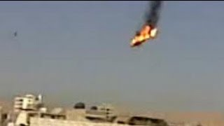SYRIA WAR IN ACTION: Helicopter EXPLODES Mid Air, Shot Down By REBELS