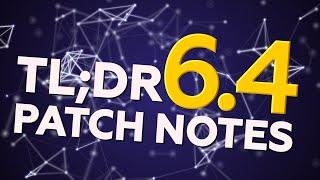 TL;DR PATCH NOTES 6.4 - LEAGUE OF LEGENDS