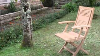 Teak Outdoor Furniture - Rosana Dining Set