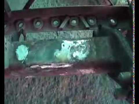 BPW 95 барабанный тормоз, замена колодок - YouTube