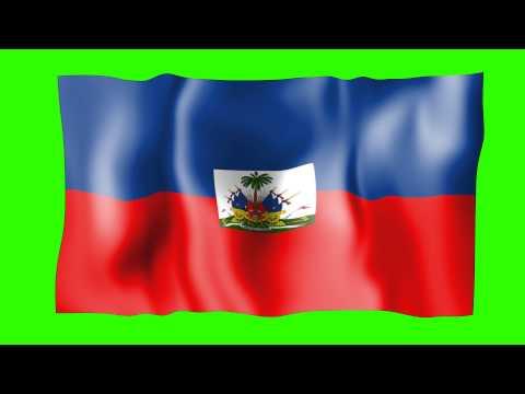 Haiti Flag   Free Green Screens