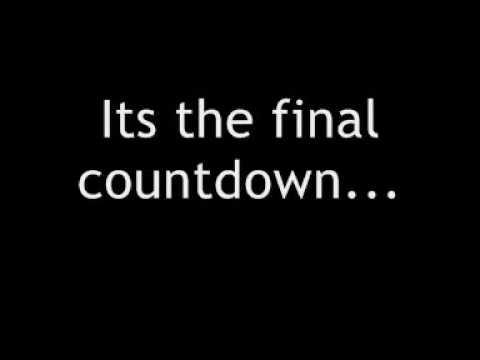 europe - final countdown + lyrics