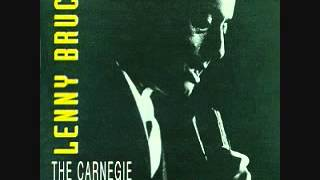 Lenny Bruce - Carnegie Hall (excerpt) (1961)