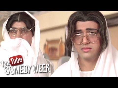 Raja Babu Comedy Scene - Govinda and Shakti Kapoor as Widows - Comedy Week