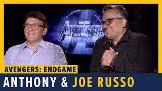 Directors Anthony & Joe Russo Talk 'Avengers: Endgame'