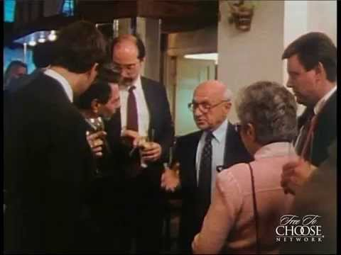 Milton Friedman Challenges Crony Capitalists...Face-to-Face