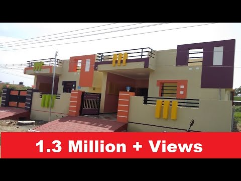 20 x 55  2 BHK Independent House with Marbles Flooring for Sale, Price @ Rs. 27 Lakhs