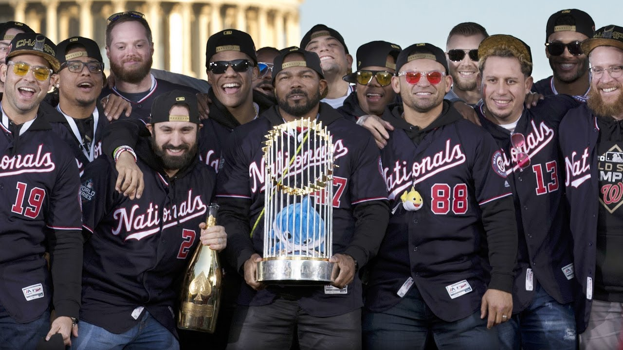 Image result for Nationals celebrate 1st World Series title with parade in DC