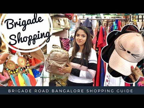 Brigade Road Shopping Guide | Where to Shop in Bangalore