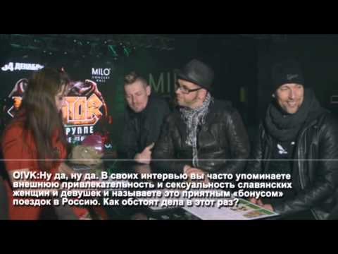 [Ru subs] 2015-11-02 Interview with Oomph! for Oomph! Вконтакте I Vkontakte