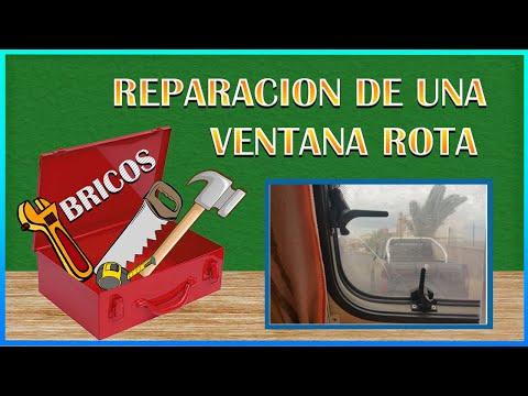 12-Reparar una ventana rota a nuestra caravana - YouTube