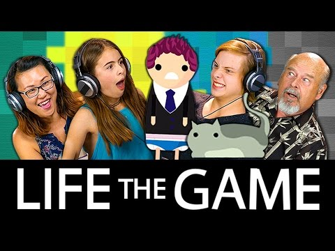 Thumbnail: LIFE & DEATH!!! All GENERATIONS PLAY LIFE: THE GAME (React: Gaming)