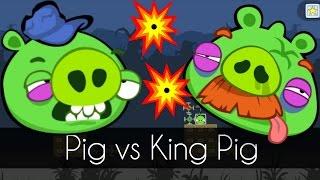 Bad Piggies - PIG vs. KING PIG (Field of Dreams) - Part 1