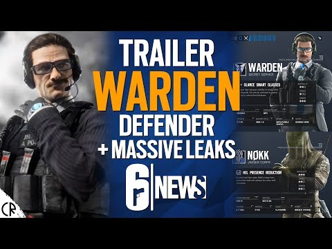 WARDEN New Defender + Loadouts for Nøkk - 6News - Tom Clancy's Rainbow Six Siege