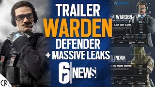WARDEN New Defender + Loadouts for Nøkk - 6News - Tom Clancy's Rainbow Six Siege