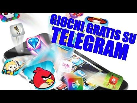 Come Avere GIOCHI GRATIS Su TELEGRAM!