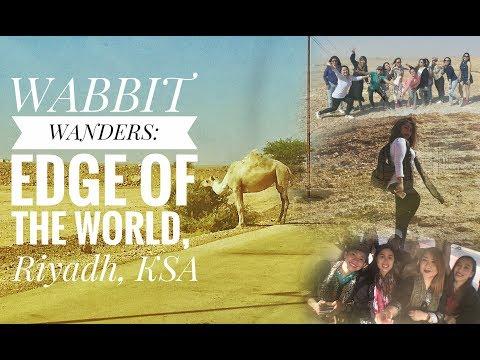 WANDERFULTIME: EDGE OF THE WORLD (RIYADH)