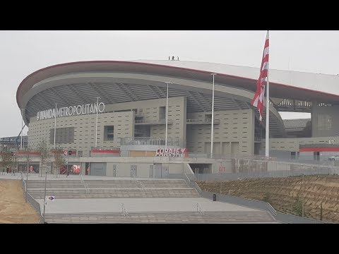 STADIUM VISIT: The Wanda Metropolitano: the New Home of Atletico Madrid Football Club