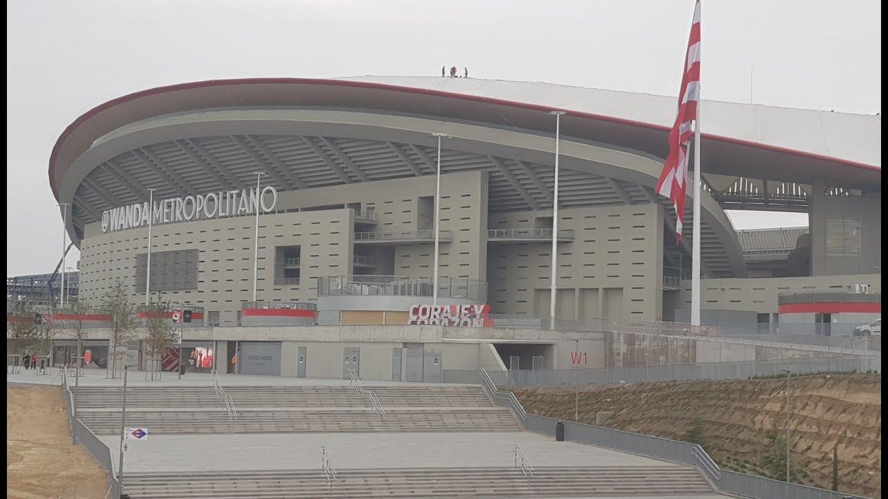 STADIUM VISIT: The Wanda Metropolitano: the New Home of ...