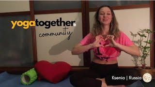 Yoga Together Community - Ksenia | Russia