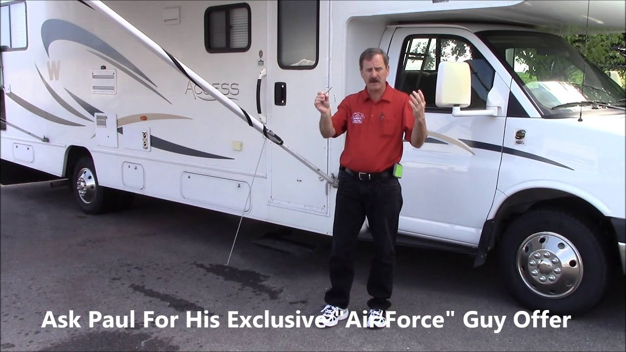 How To Operate A Manual RV Awning