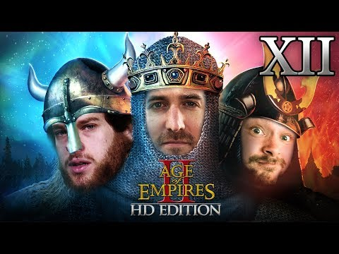 Age Of Empires 2 HD Edition 2v1 #12 | Florentin & Donnie vs. Marco