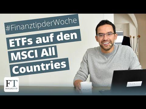 Die Besten ETFs Auf Den MSCI All Countries World Index Vorgestellt