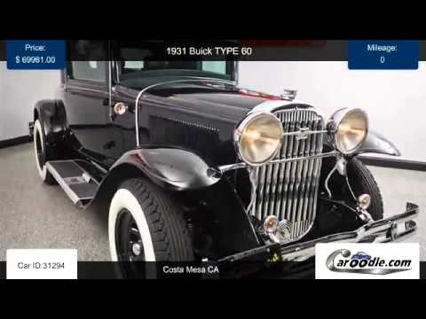 Used 1931 Buick TYPE 60 in Costa Mesa, CA