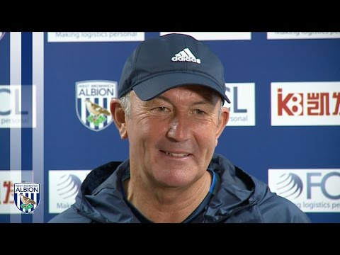 PRESS CONFERENCE: Tony Pulis addresses the media ahead of Premier League fixture against Everton