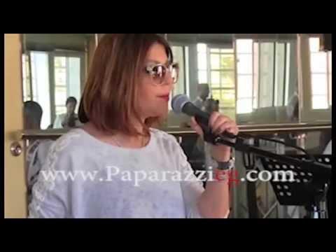 سميرة سعيد تغني بنضيع وقت في بروفات حفل مازاجان بالمغرب - باباراتزي