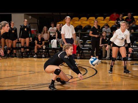 Michigan Tech Volleyball Highlights Vs. Ferris State
