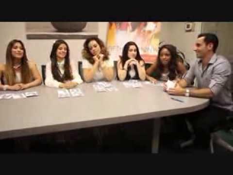 Fifth Harmony talks about Logan Lerman